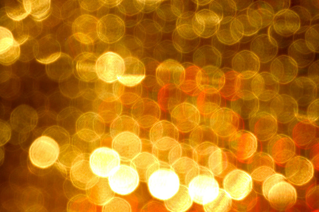 gold color in abstract