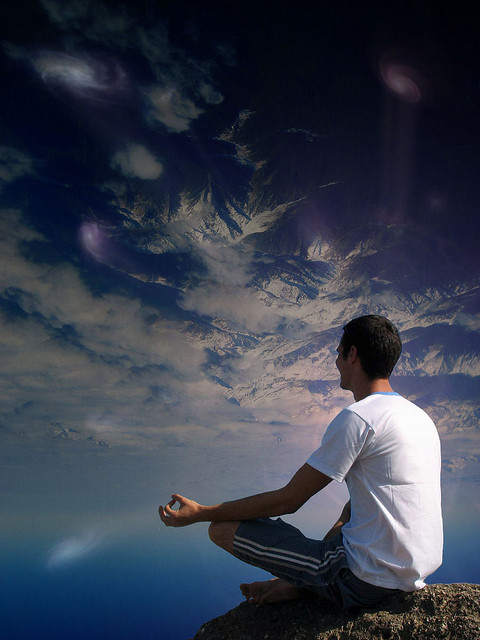 quiet creative noise with meditation