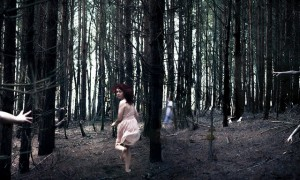 fear, creativity, creative fear, running through the woods and scared
