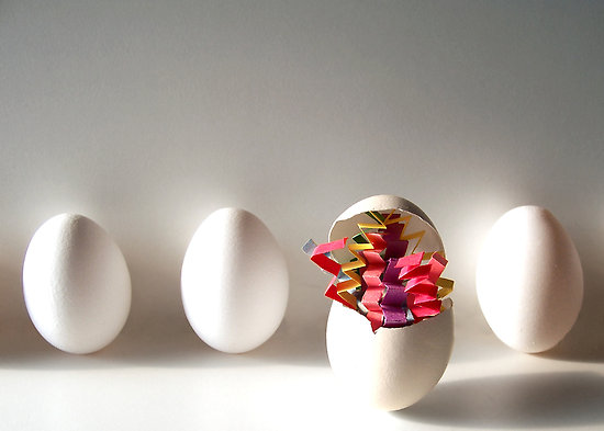 creative mold, egg, creativity