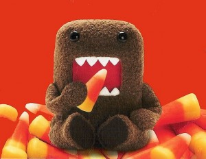 creative inspiration, candy corn, domo