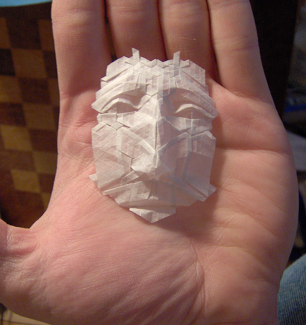 creative, creativity, small paper mask