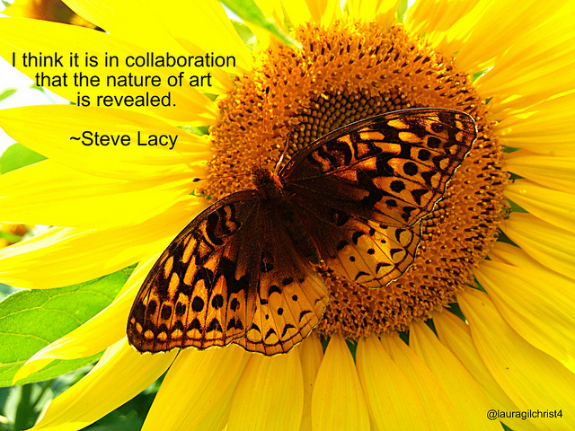 creativity, creative, collaboration, sunflower