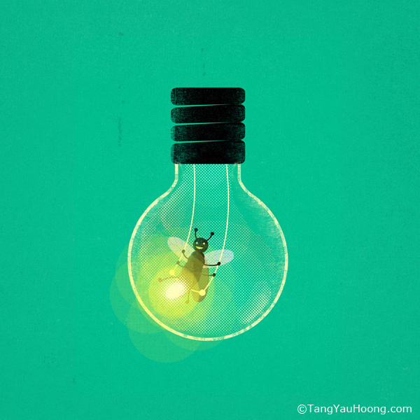 creativity, lightbulb