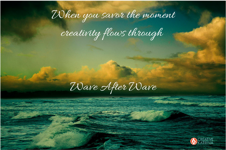 creative, creativity, mindfulness, ocean wave