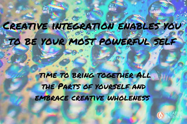 creative, creativity, integration, wholness