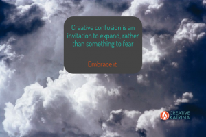 creative, creativity, confusion, change