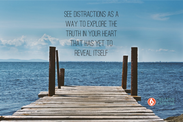 creativity, creative gifts, power of distraction
