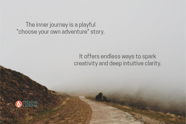 journey inward, creativity, mindfulness, intuition
