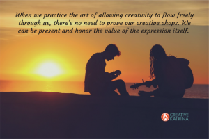 creative, creativity, sunset, guitars, being present