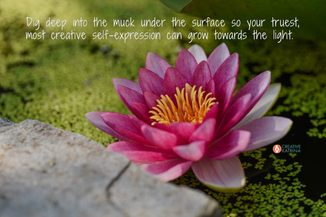 self-expression, creativity, creative, lotus flower, light