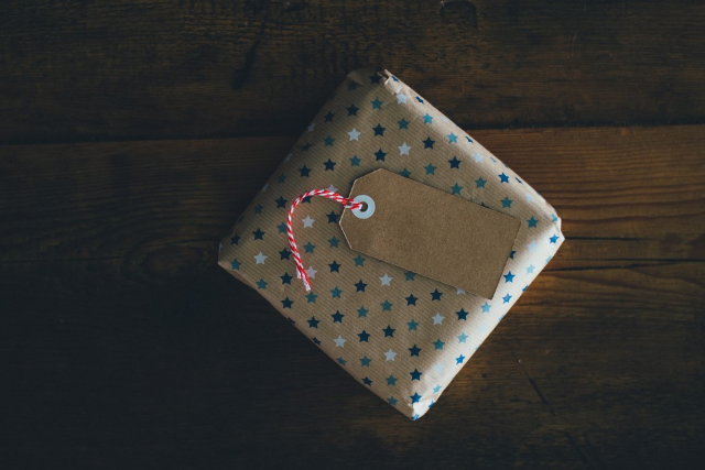 gift, limitation, present, star wrapping paper