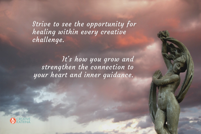 creative challenges, creativity, mindfulness, intuition, transformation, emotional intelligence, sky, statue