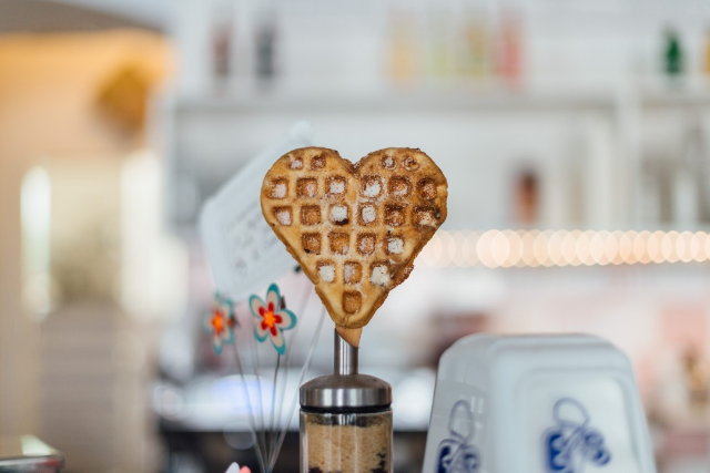 creative challenges, heart, inner knowing, heart waffle