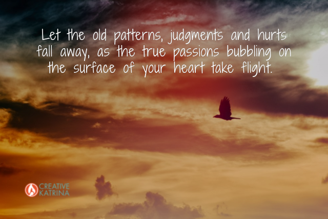 wings, transformation, heart, release, taking flight, sunset, mindfulness