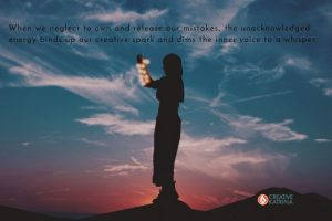 mistakes, creative, creativity, Creative Katrina, intuition, inner voice