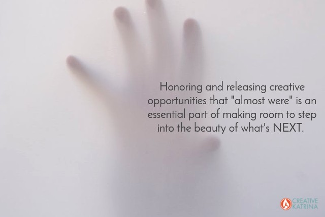 hand, creative katrina, mindset, release, empowered perspective