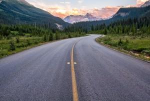 creativity, winding road