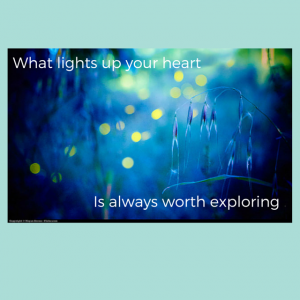 Creative Illumination Sparks in the Heart First