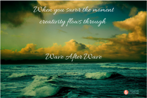Savor the Moment to Enhance Creative Awareness