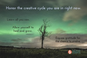 Creative Cycles are a Window to the True You