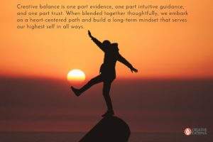 Balancing the Weight of Evidence and Trust in Creative Endeavors